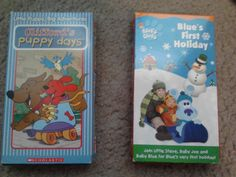 Blues Clues & Clifford Kids Cartoons VHS