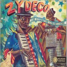 Zydeco. Great fun!