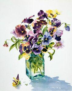 contemporary British artist Ann Mortimer.