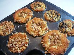 More & Tulipani: Muffin integrali alle more