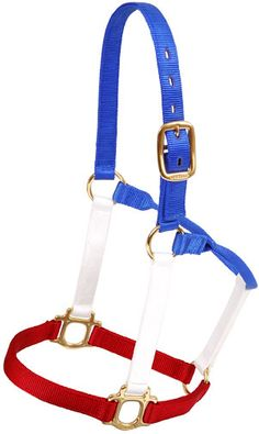 Red, White, and Blue Halter | ChickSaddlery.com