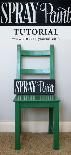 furniture makeover spray painting wood chairs spray. Black Bedroom Furniture Sets. Home Design Ideas