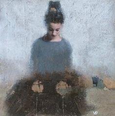 Veronique Paquereau - Contemporary Artist - Figurative Painting - Poetic Atmosphere
