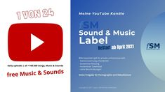presenting (my YouTube Channels 1 of 24) - ♫ ► fSM Sound & Music Label –... Sound Music, Music Labels, Youtube, The Creator, Free, Songs, Videos, Commercial, Song Books