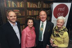 Our MD Craig with the Mayor & Mayoress of Cambridge & Lynne Stover of Strover Gallery