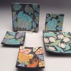"38 Likes, 2 Comments - Sue Davis Vachon (@davisvachongallery) on Instagram: ""New! Little raku fired trays. They could hold your rings or just brightened a spot in your home.…"""