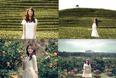 Girls' Generation's Yoona Innisfree Commercial Photo Collection Yoona Snsd, Sooyoung, South Korean Girls, Korean Girl Groups, Yoona Innisfree, Girls Generation, White Dress, Wedding Dresses, Tiffany