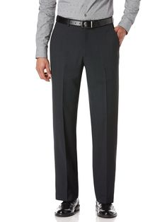 Perry Ellis Regular Fit Tonal Plaid Suit Pant: 84% Polyester. 13% Ryaon. 3% Wool.Regular Fit.Blind… #MensShirts #MensShoes #MensUnderwear