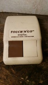 Touch N Go Garage Door Opener Remote
