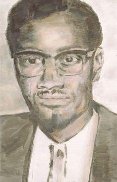 Patrice Lumumba by Luc Tuymans