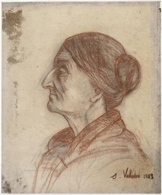 Suzanne Valadon Portrait of the artist's mother