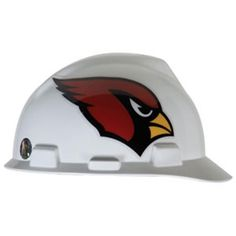 Arizona Cardinals Hard Hat - http   www.industrialsafety.com MSA abf5b40b3