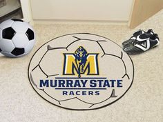 Soccer Ball Mat - Murray State University Racers