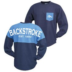 Backstroke Swim Jerseys- Cobalt/Black | SwimWithIssues