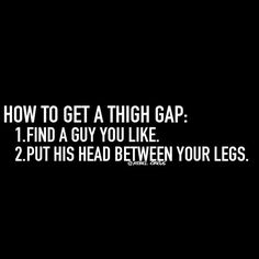 How to get a thigh gap: