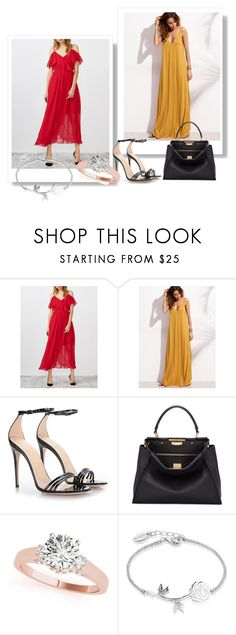 """""""Passion for fashion!"""" by azrapjanic27 ❤ liked on Polyvore featuring Gucci, Fendi and Disney"""