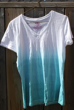 our brick house: DIY ombre shirt