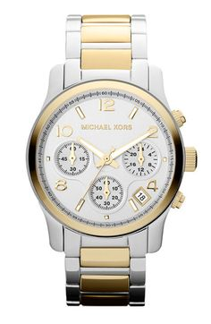 Michael Kors 'Runway' Chronograph Watch available at #Nordstrom