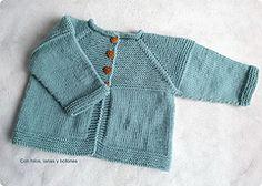 Chaqueta Shalma pattern by Con hilos, lanas y botones