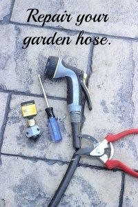 Garden Hose Repair!