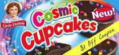 Coupon $1.00 off Little Debbie Cosmic Cupcakes http://azfreebies.net/coupon-1-00-little-debbie-cosmic-cupcakes/
