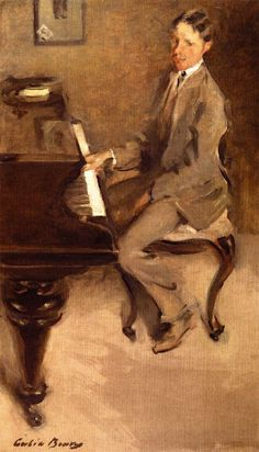 At the Piano by Cecilia Beaux