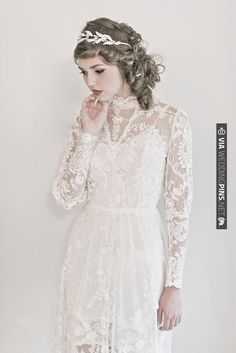 oh so lovely in | CHECK OUT MORE IDEAS AT WEDDINGPINS.NET | #weddings #weddingdress #inspirational