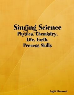 Science concepts to simple tunes by a wonderful Montessori teacher! Also a geo. ebook too! Music Lesson Plans, Music Lessons, Fun Songs, Geo, Chemistry, Montessori, Singing, Teacher, Student