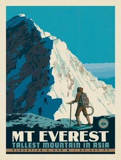 Anderson Design Group – World Travel – 7 Summits: Mt. Everest-Tallest Mountain in Asia