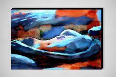 """Helena Wierzbicki; Acrylic, 2012, Painting """"""""Portrait of a figure"""""""""""