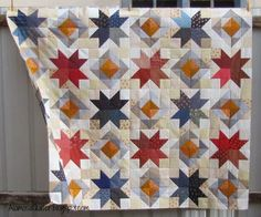 Stars of Valor Quilt Pattern | Star Value Quilt of Valor Top