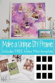 DIY Frame hang Photo