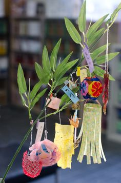tanabata festival decoration