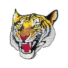 Tiger Patch c08-p13 Tiger Patch. Tiger Patch. Size 4-1/2 inches in diameter.
