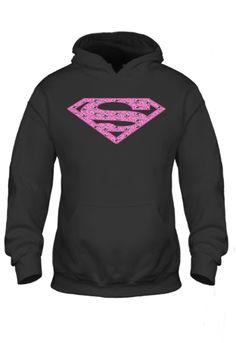 Superman Pink Standard Hoodie