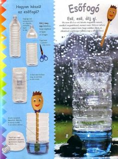 Fotó: Rain Catcher, Activity Games, Activities, 5 Year Olds, Green Day, Projects For Kids, Techno, Weather, Seasons
