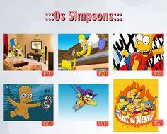 poster de filmes, poster dos simpsons, caderno dos simpsons (2)