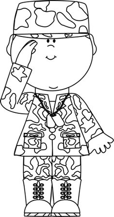 Community service coloring pages ~ soldier | Printable Coloring Pages | Coloring pictures for ...