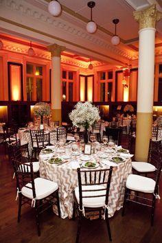 Classy Rhode Island Wedding from Kristin Spencer Photography - wedding reception idea.