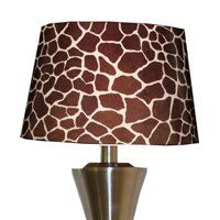 .giraffe print shade.            t