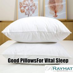 Whether you're a side, back or front sleeper we're confident we've got the right one for you. Good pillows are vital to a great night's sleep! Supremely Soft as Down Pillow Goose Feathers, Dorm Life, Best Pillow, Great Night, Good Sleep, Down Pillows, Dorm Decorations, Dorm Room, Bed Sheets