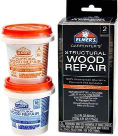 Elmer's E9024 Carpenter's Wood Filler 2x3 Fluid Ounce (88.5 ml) by Elmer's. $5.70