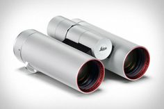 The Leica x Zagato Binocular Design Boasts Exceptional Microzoom Qualities #camping trendhunter.com