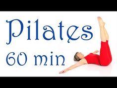 • Pilates Stunde ohne Hilfsmittel - YouTube