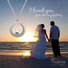 Capture your special moments with a personalised locket by Lily Anne Designs www.1587562.lilyannedesigns.com.au
