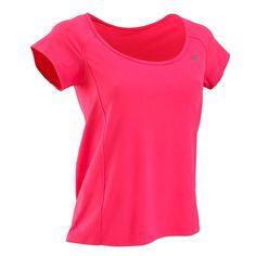 £8.99 T-shirts - Cardio Fitness T-shirt Fushia Purple