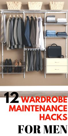 So , you have spent thousands of dollars investing in your wardrobe so you can look effortlessly stylish.  Well, to make the most our of your stylish  collection, here are some practical tips and hacks to maintain your wardrobe #wardrobe #wardrobemaintenance #organization #mensfashion