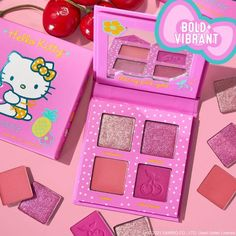 ColourPop x Hello Kitty Cherry Sweet Pressed Powder Palette