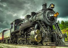 historic locomotive