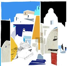 Santorini limited edition print @philippstheodorides greek summer